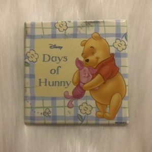🔮 5/$25 Winnie the Pooh Days of Hunny Pin